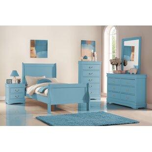Teal bedroom furniture Black Quickview Wayfair Graphite Blue Dresser Wayfair