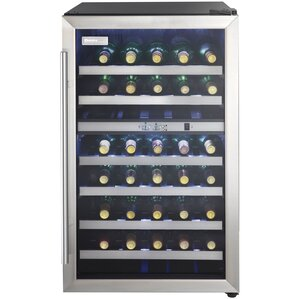 38 Bottle Dual Zone Freestanding Wine Cooler by Danby