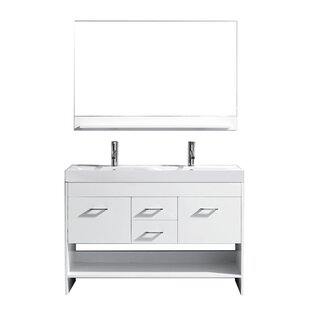Modern Contemporary 61 Inch Double Sink Vanity Top Allmodern