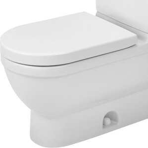 darling new elongated toilet bowl