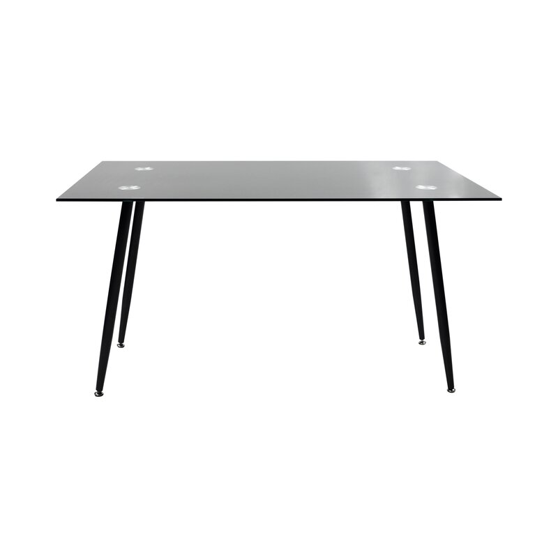 wildon home esstisch aus glas bewertungen. Black Bedroom Furniture Sets. Home Design Ideas