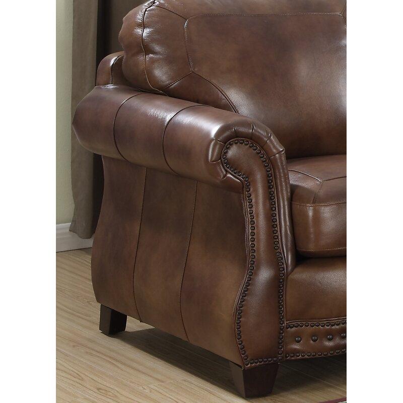 Beglin Cognac Leather Sofa