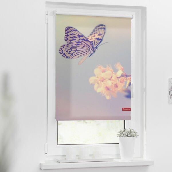 Lichtblick aufroll rollo klemmfix - Badezimmerspiegel ohne bohren ...