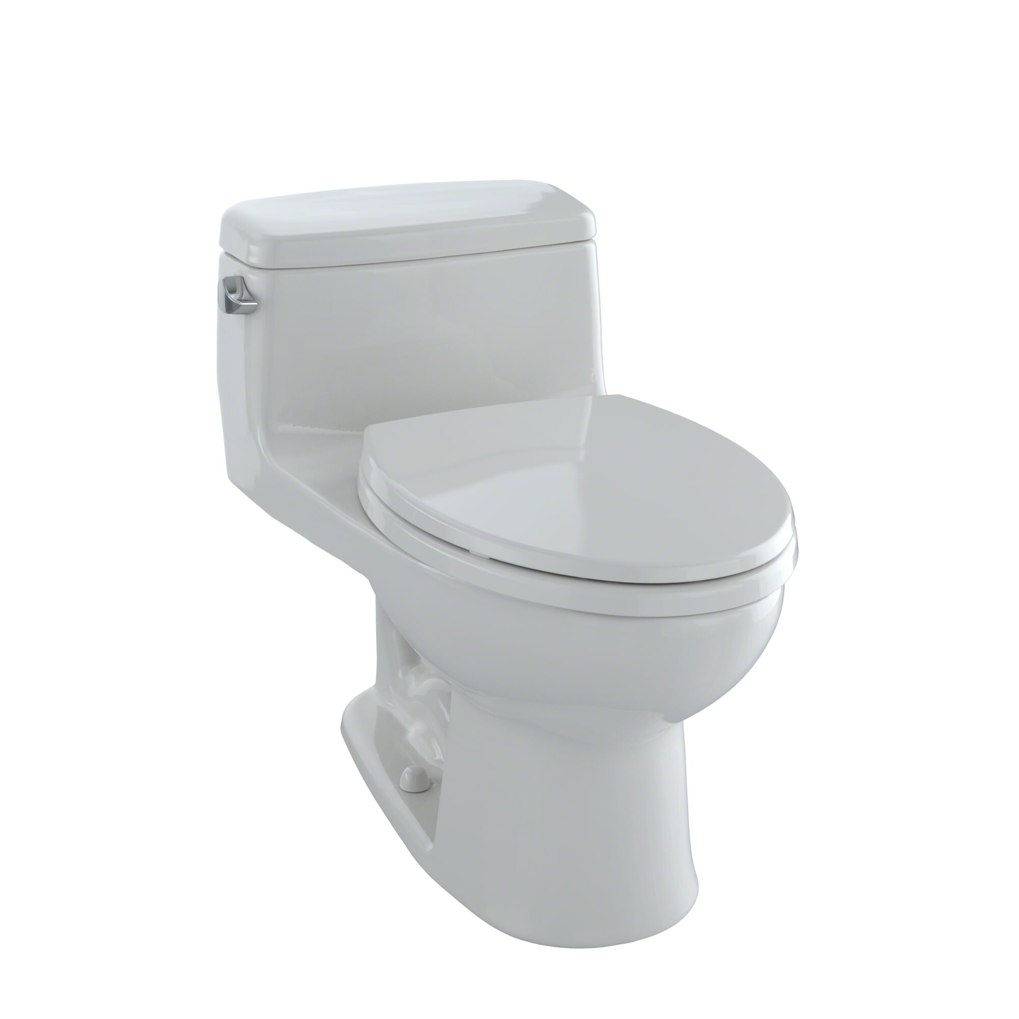 Toto Supreme® Eco 1.28 GPF Elongated One-Piece Toilet & Reviews ...