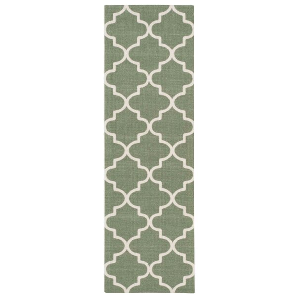 Sun Nu0027 Shade Moss Indoor/Outdoor Runner Rug