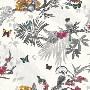 Mystical Forest 33.5' x 22 Wildlife Wallpaper