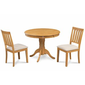 Cedarville 3 Piece Carved Dining Set by Alcott H..