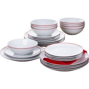 Contour Band 24 Pieces Dinnerware Set
