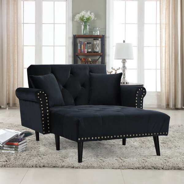 House of hampton tilstone chaise lounge reviews wayfair for Black friday chaise lounge