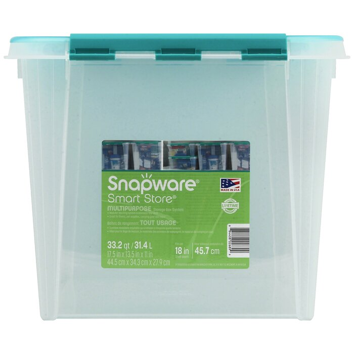 Snapware® Smart Store® Home Storage Container With Kelly Green Handles