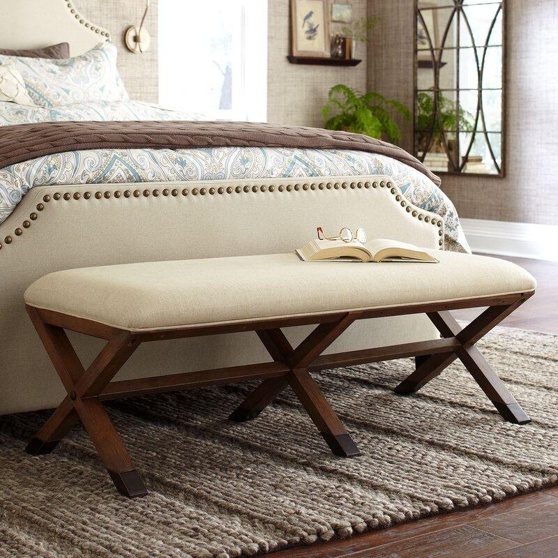 Varian Upholstered Storage Bedroom Bench Birchlane: Birch Lane™ Marshall Upholstered Bench & Reviews