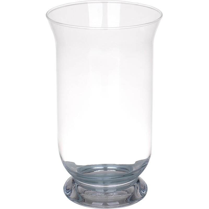 Alcott Hill Glass Hurricane Vase Reviews Wayfair