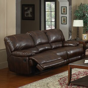 Kennison Reclining Sofa by Flair