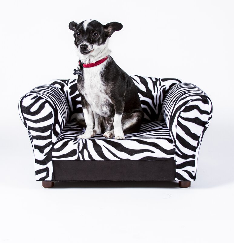 Keet Mini Dog Sofa Bed With Wooden Legs Amp Reviews Wayfair