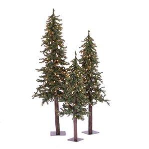 modern christmas trees allmodern - Natural Christmas Tree