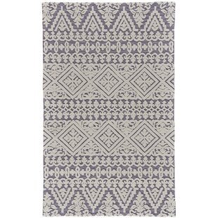 9df42580cb3f Grice Hand-Tufted Wool Pearl Gray Area Rug
