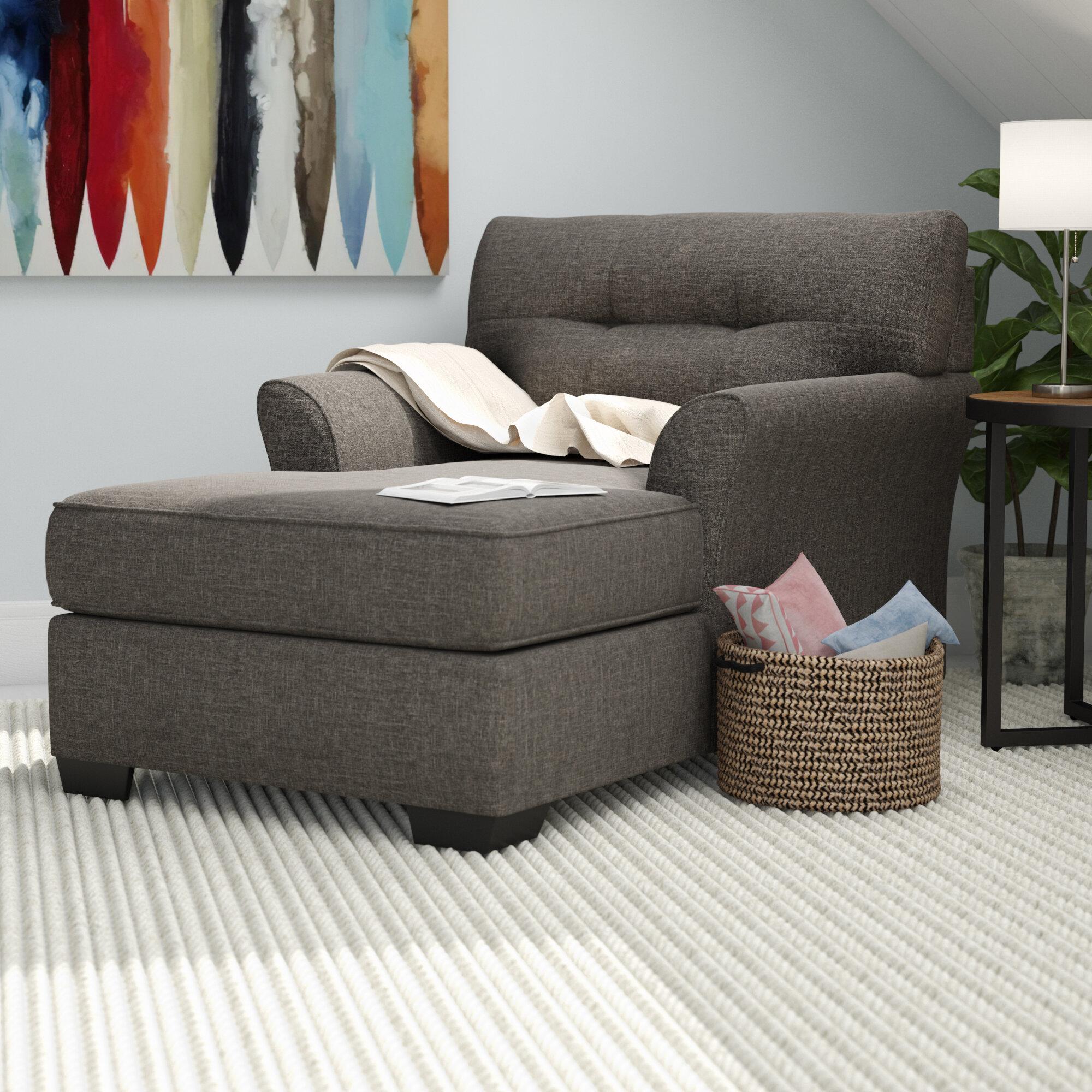 Andover Mills Ashworth Chaise Lounge & Reviews | Wayfair