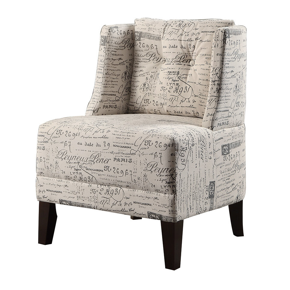 Unusual Accent Chairs Pattern.Bobkona Prissy Wingback Chair