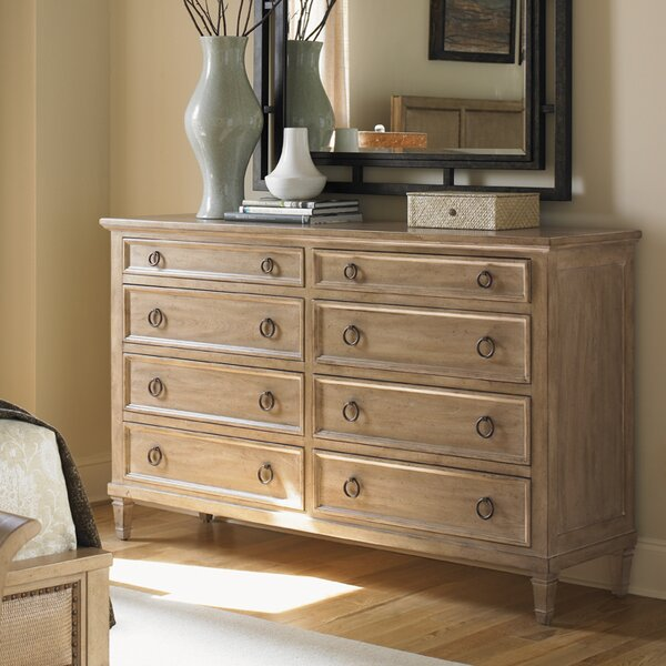 Lexington Monterey Sands Hollister 8 Drawer Double Dresser Reviews Wayfair