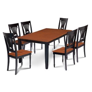Charlestown 7 Piece Dining Set by Alcott Hill