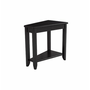 Charmant Amelie Wedge End Table