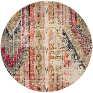 Elston Abstract Multicolor Area Rug