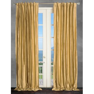 Metallic Gold Curtains