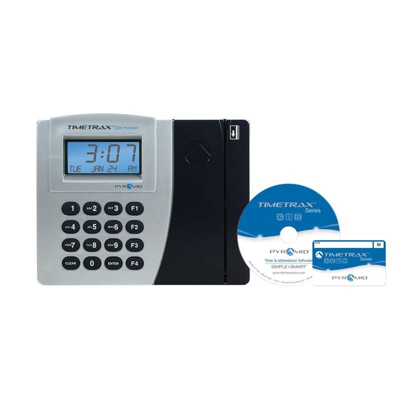 TimeTrax Elite Swipe Card Time Clock System