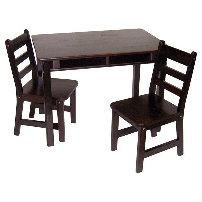 viv + rae alexa kids 3 piece table & chair set & reviews | wayfair