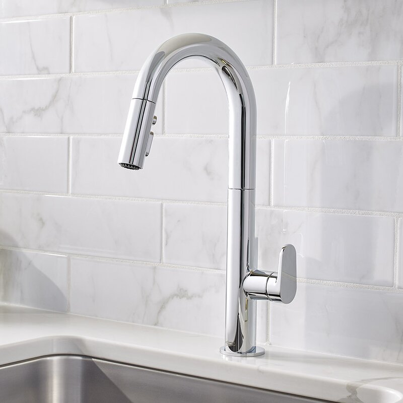 american standard beale single-handle pull down kitchen faucet