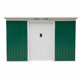 Arrow EZEE Shed 6 ft  W x 5 ft  D Metal Storage Shed