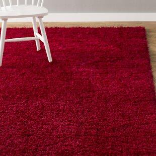 Madison Basic Red Area Rug