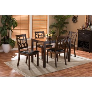 Delavega 5 Piece Dining Set by Brayden Studio