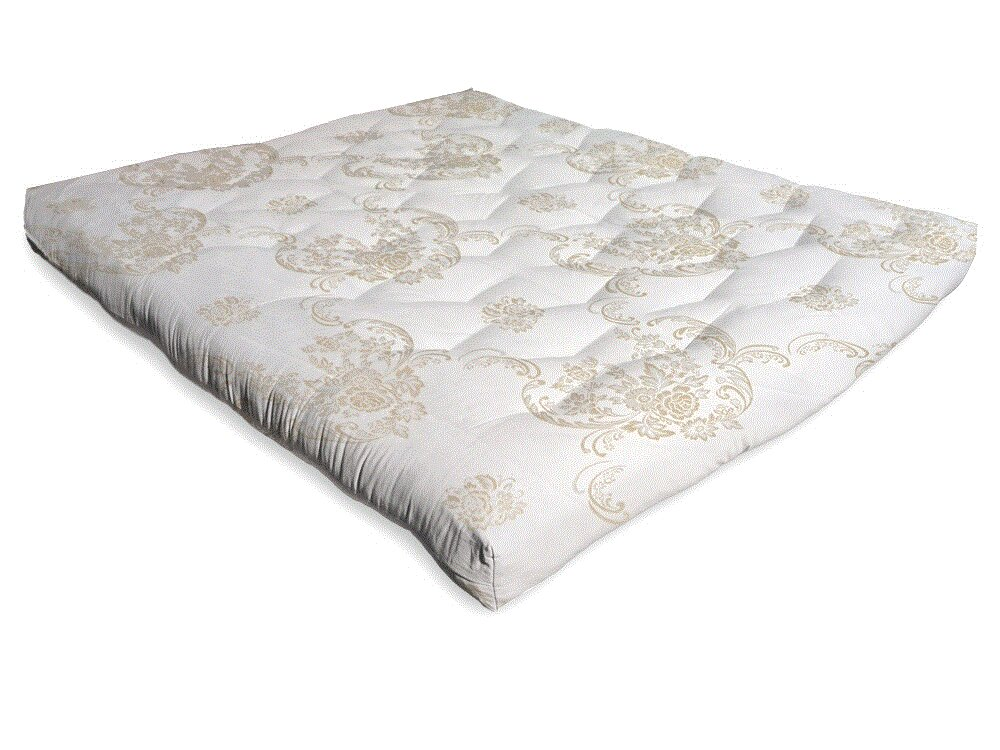 a diamond chemical free 2 cotton mattress topper wayfair - Organic Cotton Mattress