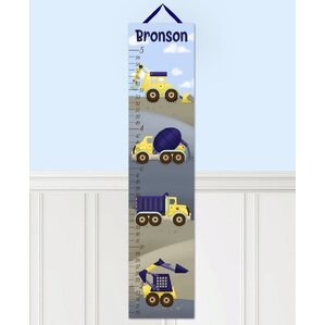 truck canvas growth chart