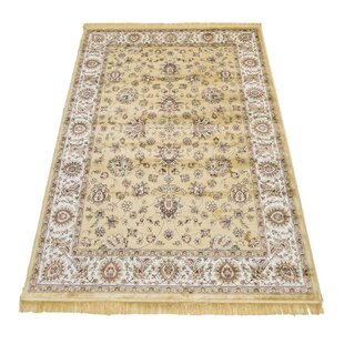 Baldwin Persian Beige Rug by Astoria Grand