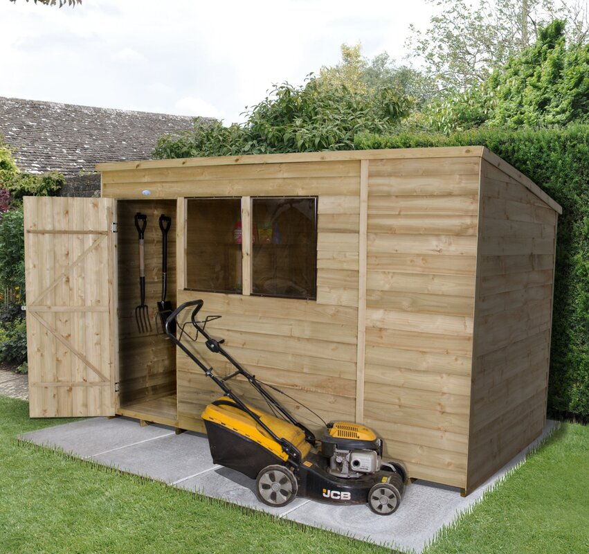 Forest Garden 10 Ft. W X 6 Ft. D Wooden Storage Shed