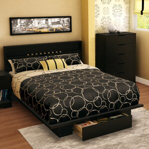 Full/Queen Storage Platform Bed by South Shore