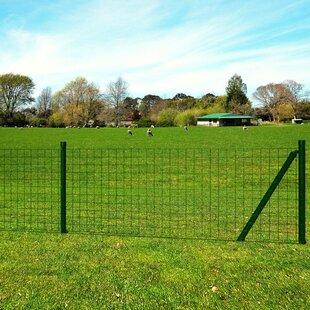 Epstein 10m x 0.8m Fence Set with Ground Spikes by Lynton Garden