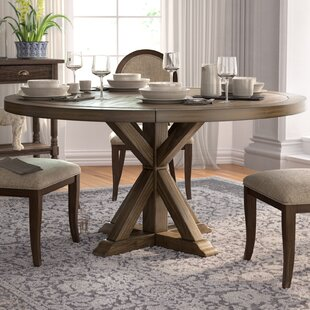 Reclaimed Wood Round Dining Table