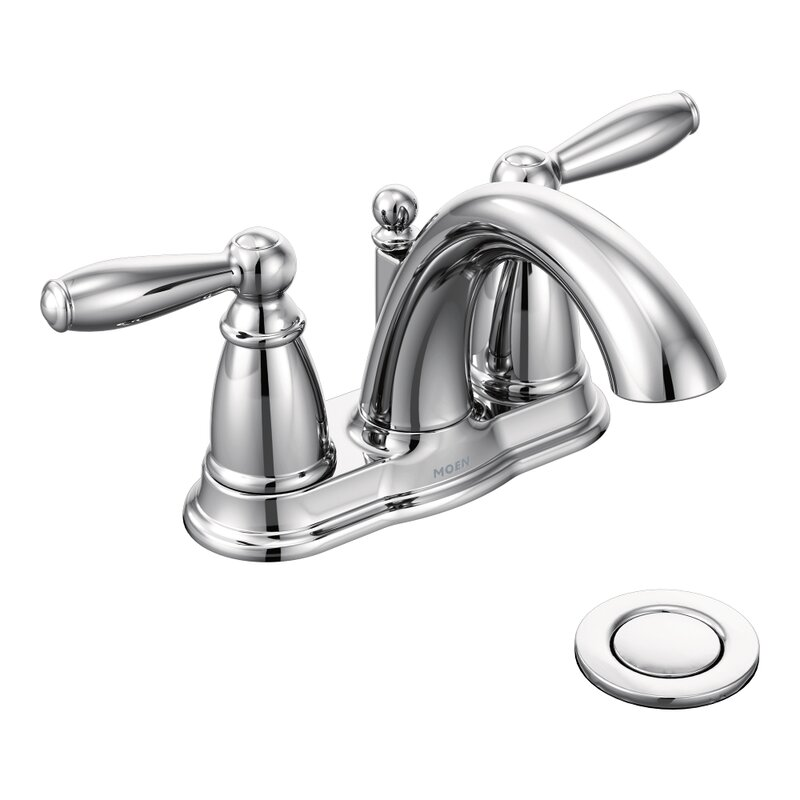 Bathroom Faucets Centerset moen brantford two handle centerset bathroom faucet & reviews