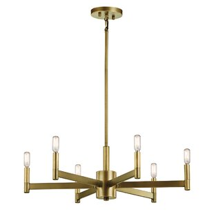Modern contemporary round candle chandelier allmodern save aloadofball Images