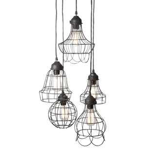 Attirant Huang Wire 5 Light Pendant