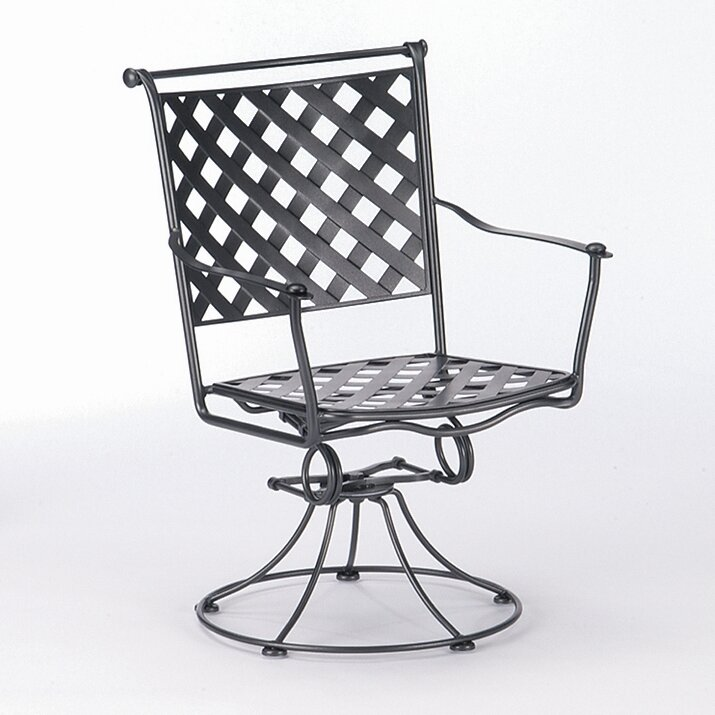 Maddox Swivel Patio Dining Chair