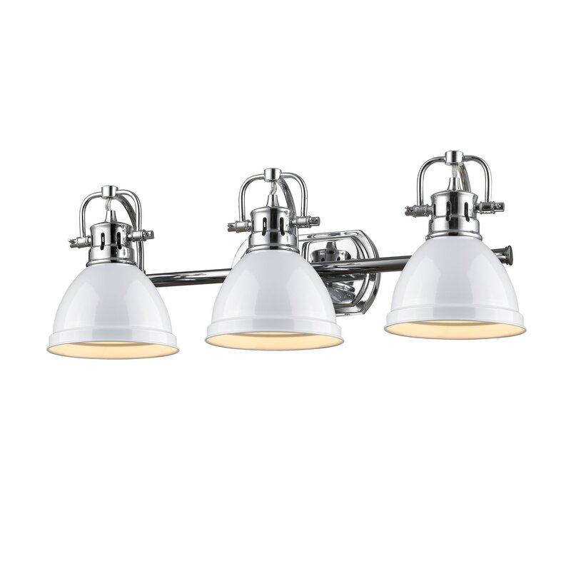Beachcrest Home Bodalla 3 Light Metal Vanity Light Reviews