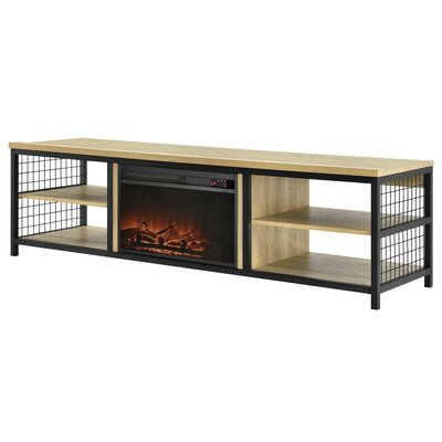 Williston Forge Stowmarket TV Stand for TVs up to 75 Fireplace Included: Yes
