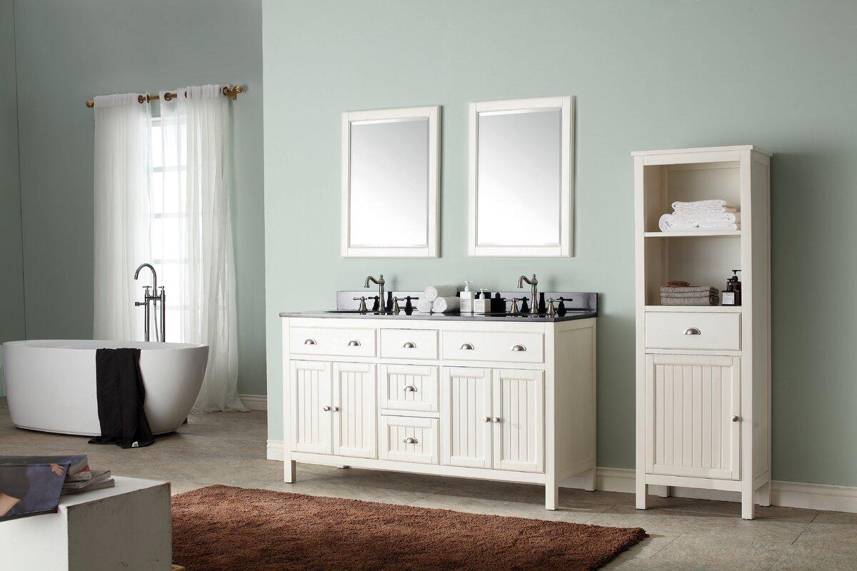avanity hamilton  single bathroom vanity set  reviews  wayfair - defaultname