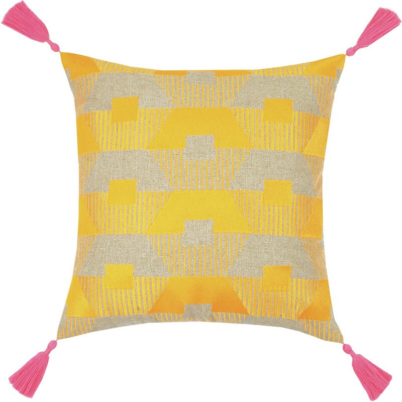 Trina Turk Neon Torrance Linen Throw Pillow Wayfair