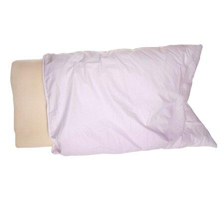 deluxe comfort deluxe memory foam contourneck pillow u0026 reviews wayfair