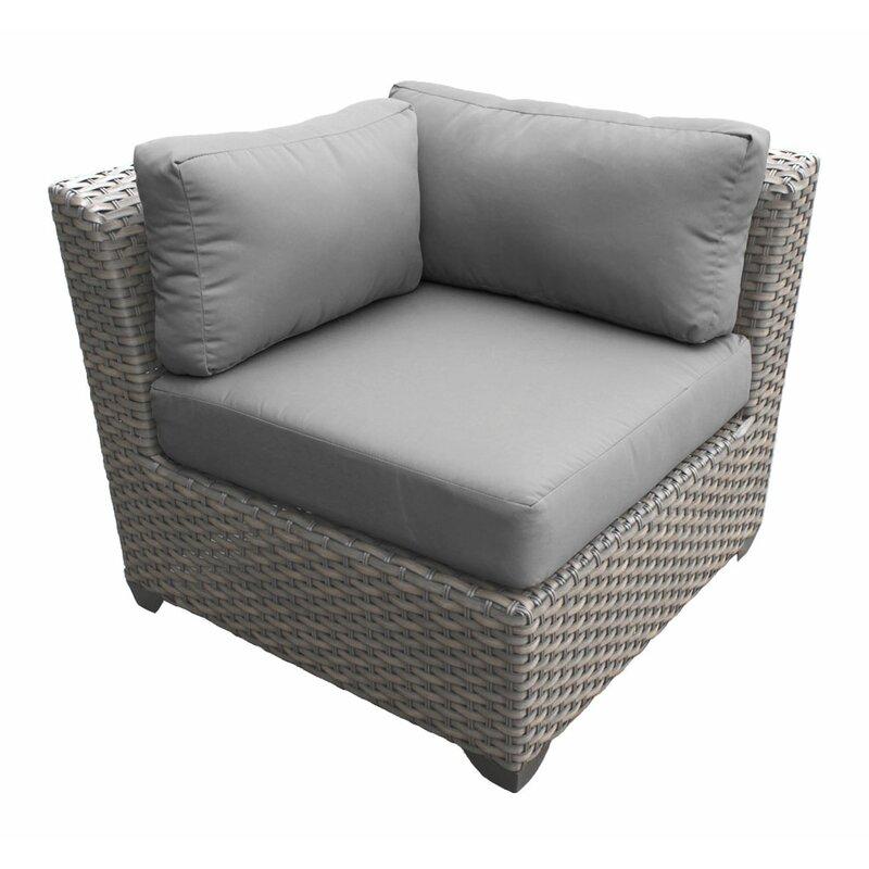 Florence 6 Piece Rattan Sofa Set With Cushions